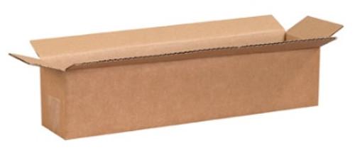 "18"" x 4"" x 4"" (ECT-32) Long Kraft Corrugated Cardboard Shipping Boxes"