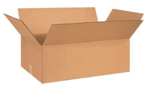 "27"" x 14"" x 9"" (ECT-32) Kraft Corrugated Cardboard Shipping Boxes"