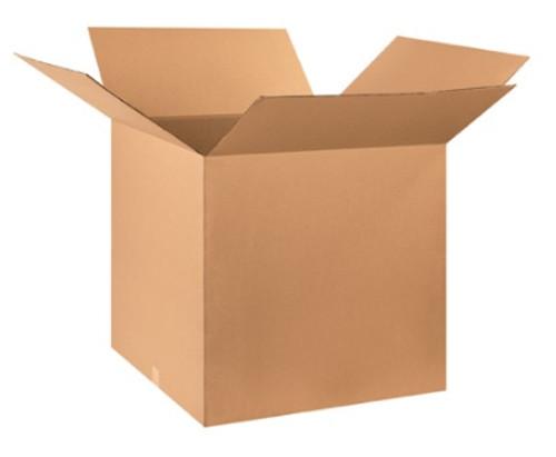 "27"" x 27"" x 27"" (200#/ECT-32) Kraft Corrugated Cardboard Shipping Boxes"