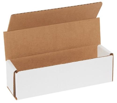 "7"" x 2"" x 2"" (ECT-32-B) White Corrugated Cardboard Mailers"