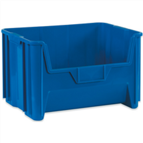 """19 7/8"""" x 15 1/4"""" x 12 7/16"""" Blue  Giant Stackable Bins"""