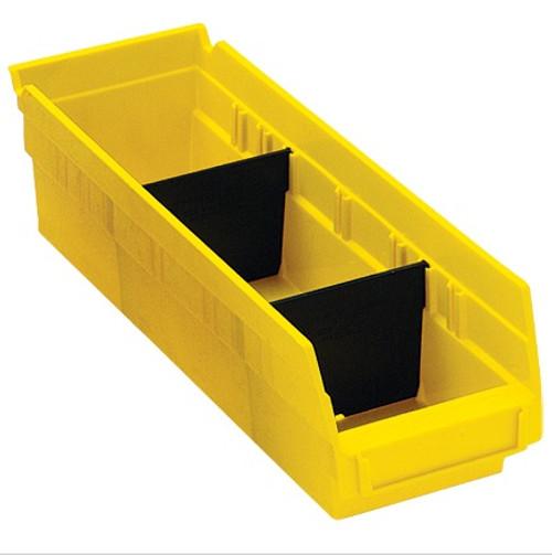 "2 7/8"" x 3"" Plastic Shelf Bin Dividers"