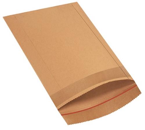 "10 1/2"" x 14"" Self-Seal Jiffy Rigi Bag Mailers Kraft Laminated Fiberboard Construction"