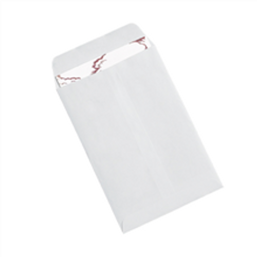 """6 1/2"""" x 9 1/2"""" White Redi-Seal Envelopes Fold Flap, Press Down, and Mail. No Moisture Needed to Seal."""