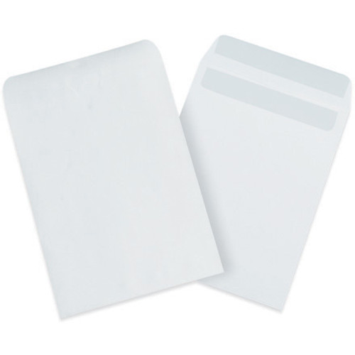 """9"""" x 12"""" White Redi-Seal Envelopes Fold Flap, Press Down, and Mail. No Moisture Needed to Seal."""