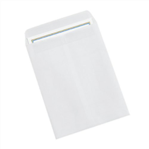 """9 1/2"""" x 12 1/2"""" White Redi-Seal Envelopes Fold Flap, Press Down, and Mail. No Moisture Needed to Seal."""