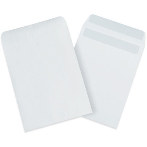 """10"""" x 13"""" White Redi-Seal Envelopes Fold Flap, Press Down, and Mail. No Moisture Needed to Seal."""
