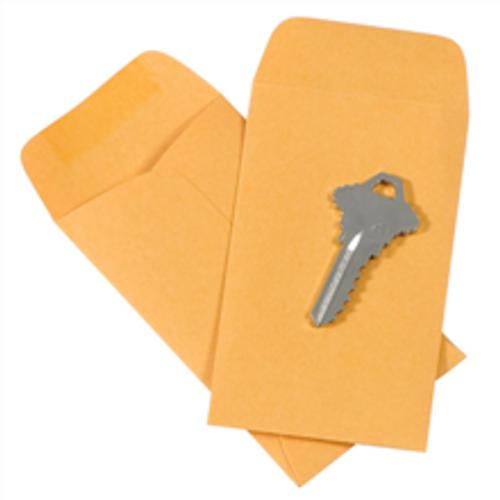 """2 1/2"""" x 4 1/4"""" Kraft Gummed Envelopes"""