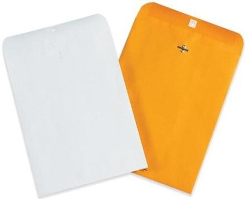 "10"" x 15"" Kraft Clasp Envelopes"
