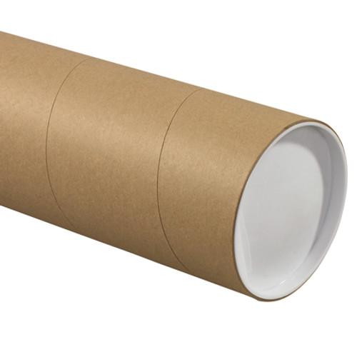 "6"" x 24"" Kraft Jumbo Mailing Storage Tubes"