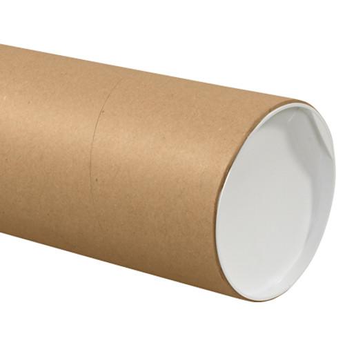 "8"" x 36"" Kraft Jumbo Mailing Storage Tubes"