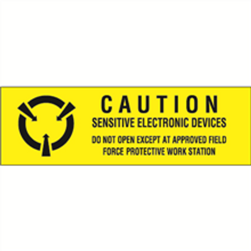 """""""Sensitive Electronic Devices"""" Anti-Static Labels"""