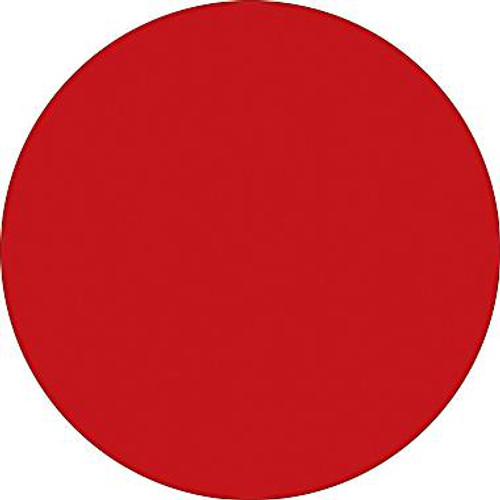 """Red Circle Inventory Label - 1"""" Round Inventory Stickers"""