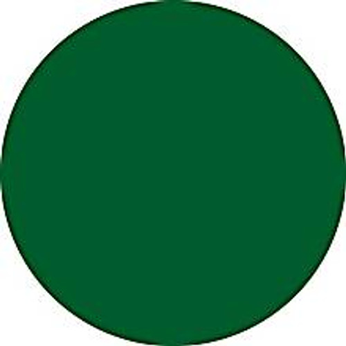 Green Circle Inventory Label - Round Inventory Stickers