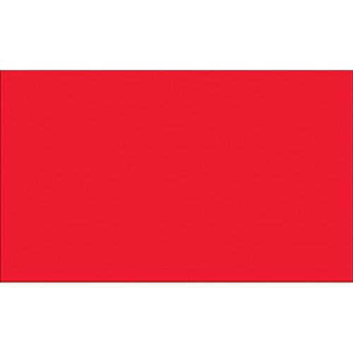 """3"""" X 10"""" Fluorescent Red Inventory Rectangle Labels"""