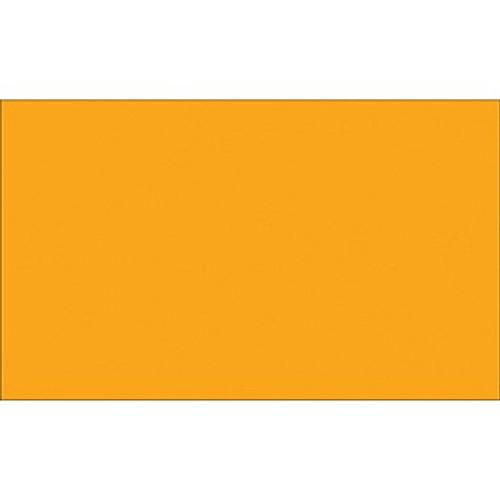 "3"" x 10"" Fluorescent Orange Inventory Rectangle Labels"