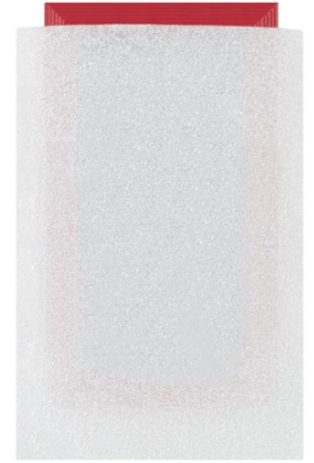 "8"" x 12"" (1/8"") Polyethylene Foam Flush Cut Pouches"