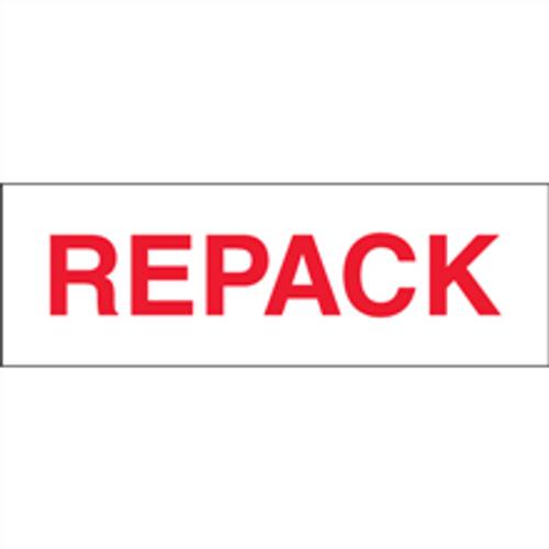 """""""Repack"""" Pre-Printed Carton Sealing Tape"""