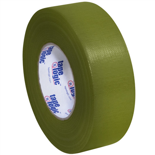 """2"""" Olive Green Colored Duct Tape - Tape Logic™"""