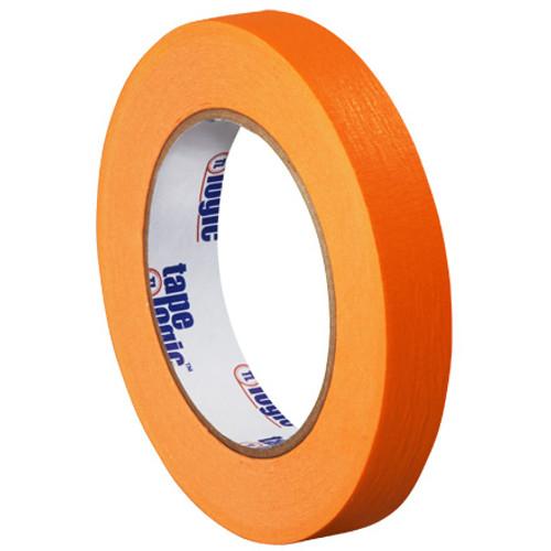"3/4"" Orange Colored Masking Tape - Tape Logic™"