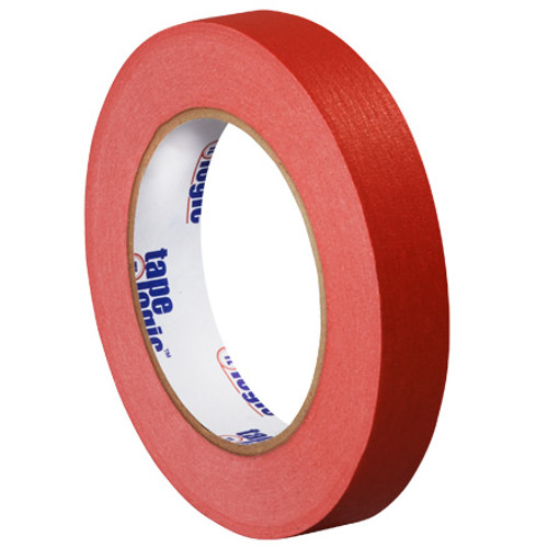 """3/4"""" Red Colored Masking Tape - Tape Logic™"""