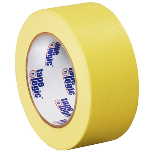 "2"" Yellow Colored Masking Tape - Tape Logic™"
