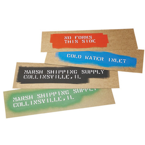 "Marsh® Oil Boards, 6 1/2"" x 20"" Stencil Oil Boards"