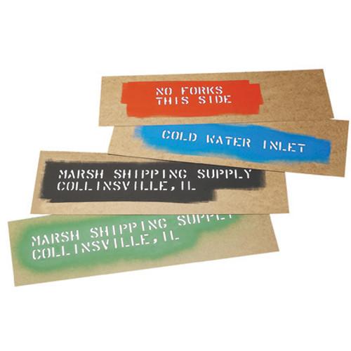 "Marsh® Oil Boards, 6 1/2"" x 24"" Stencil Oil Boards"