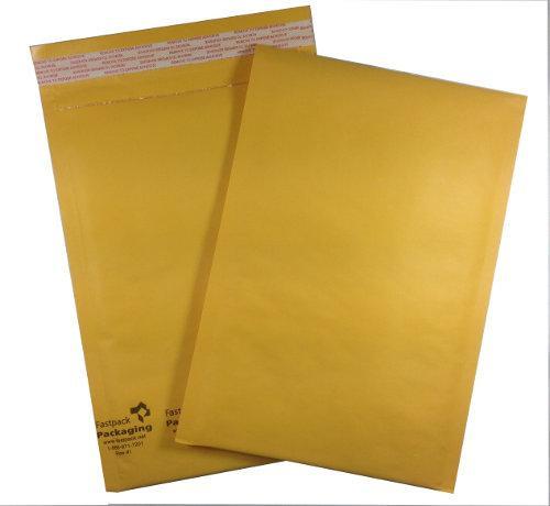 "7 1/4"" X 11"" Kraft Self Seal Bubble Mailers Envelopes"