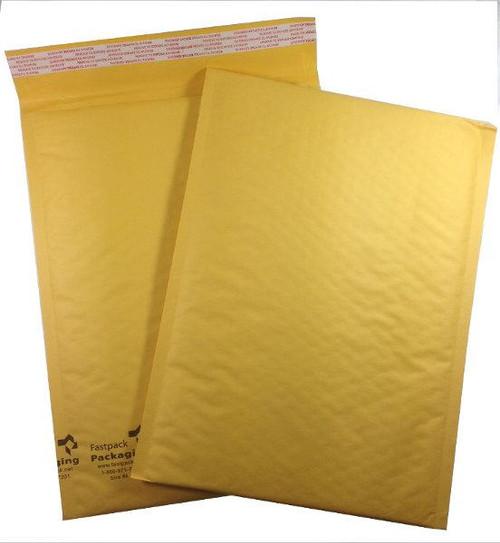 "9 1/2"" x 13"" Kraft Self Seal Bubble Mailers Envelopes"