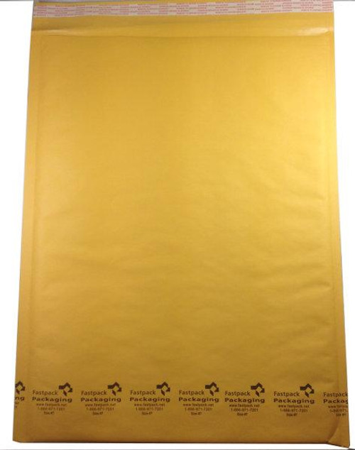 "14 1/4"" x 19"" Kraft Self Seal Bubble Mailers Bubble Envelopes"