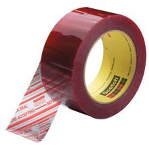 """""""Check Seal Before Accepting""""  2"""" Pre-Printed Tape"""