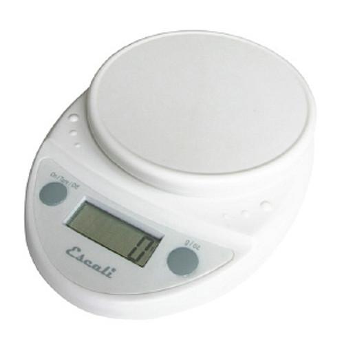 Escali Primo White Digital Multifunction Kitchen Scale