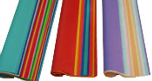 Satin Color Tissue Paper Quire Folded: Medley Lights Tissue, Medley Brights Tissue and Medley Mix Tissue