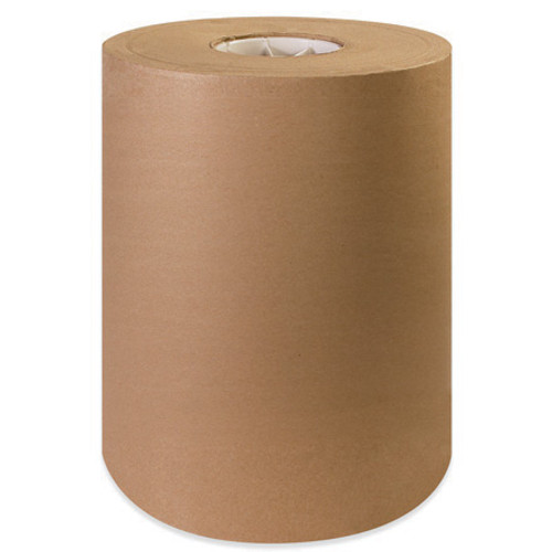 """Brown Kraft Paper Wrapping Roll 1200' x 12"""" - 30#"""