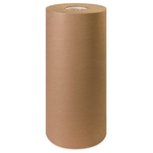 """Brown Kraft Paper Wrapping Roll 1200' x 24"""" - 30#"""