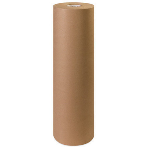 """Brown Kraft Paper Wrapping Roll 1200' x 30"""" - 30#"""