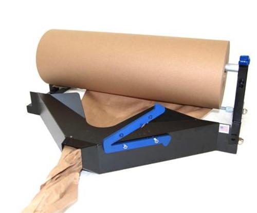 Kraft Roll Dispenser and Paper Crumpler