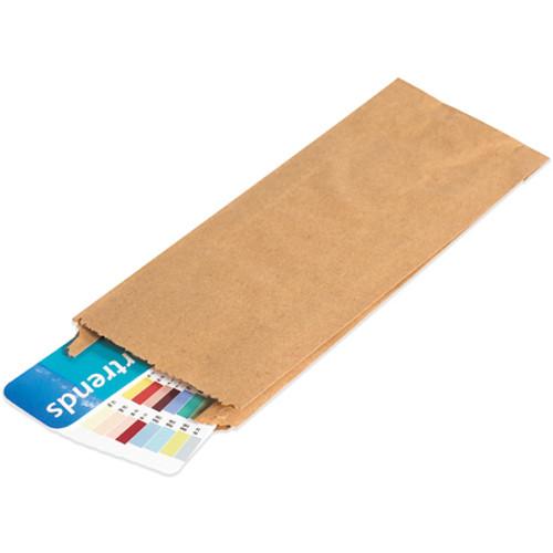 """12"""" x 3"""" x 18"""" Kraft Gusseted Kraft Brown Paper Merchandise Bags #16"""