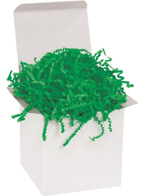 Crinkle Cut Green Void Fill Paper Shred