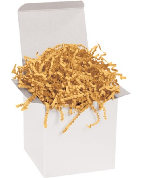 Crinkle Cut Cognac Void Fill Paper Shred