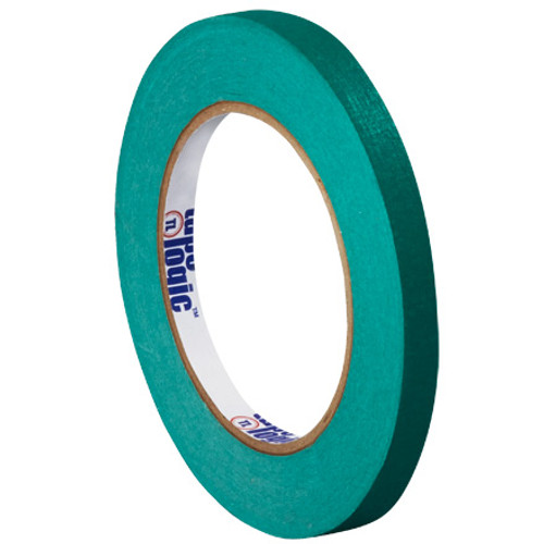 "1/4"" Dark Green Colored Masking Tape - Tape Logic™"