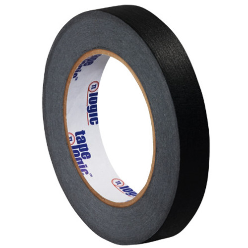 """3/4"""" Black Colored Masking Tape - Tape Logic™"""