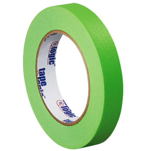 "3/4"" Light Green Colored Masking Tape - Tape Logic™"