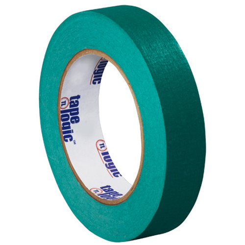 "1"" Dark Green Colored Masking Tape - Tape Logic™"