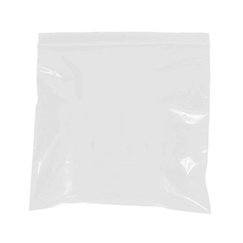 """5"""" x 8"""" - 2 Mil White Reclosable Poly Bags"""