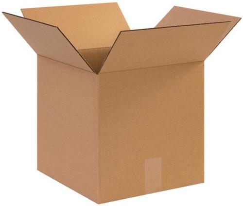 "12"" x 12"" x 12"" Brown Corrugated Cardboard Shipping Box Build-A-Bundle™"