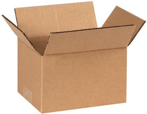 "7"" x 5"" x 4"" Brown Corrugated Cardboard Shipping Box Build-A-Bundle™"