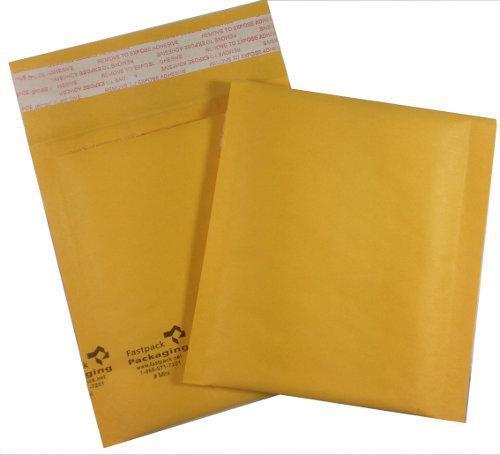"4"" x 5"" Kraft Self Seal Bubble Mailer Envelope"