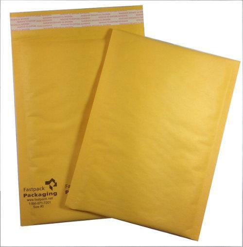 "6"" x 9"" Kraft Self Seal Bubble Mailer Envelope"